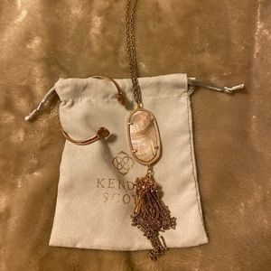Kendra Scott  Necklace and Bracelet